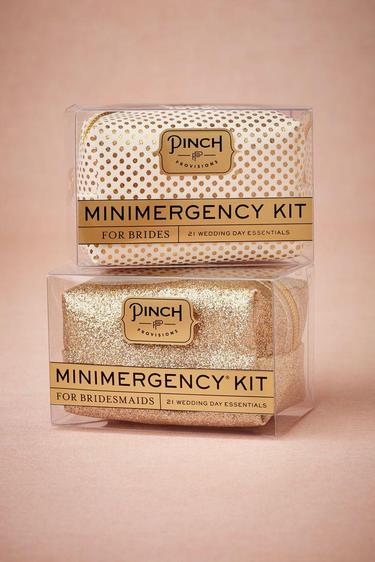 Minimergency Kit for Bridesmaids!