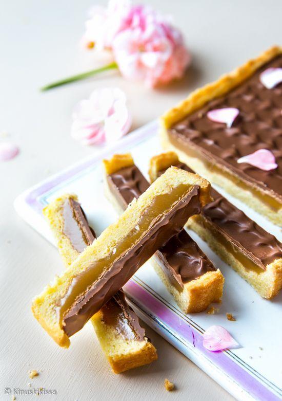 """No nyt ollaan herkun äärellä! Yksi makeishyllyn suklaasuosikkini on Twix-patukka, aiemmalta (""""oikealta"""") nimeltään Raider. Rapeaa keksimäistä pohjaa, pehmeää toffeeta ja päällä maitosuklaata. Tämän mi"""