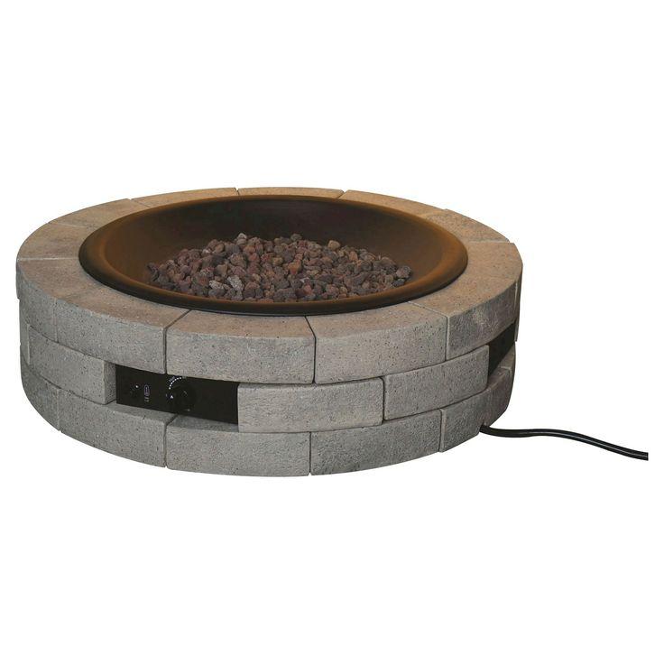 Round Gas Fire Pit Kit