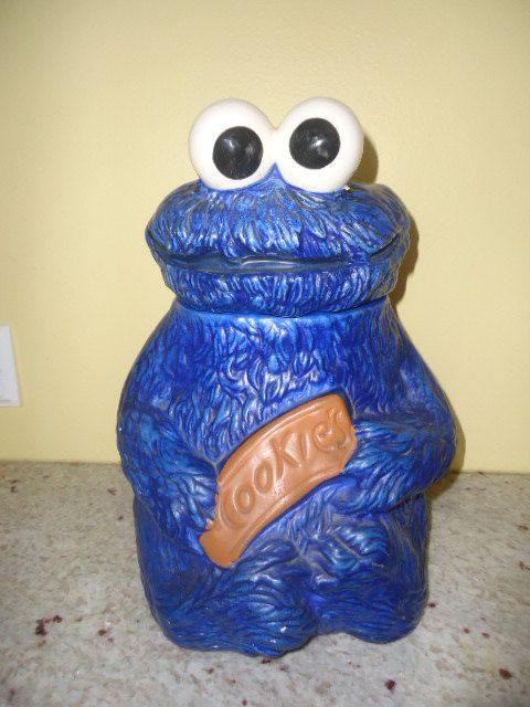 Vintage Sesame Street Muppets Cookie Monster By
