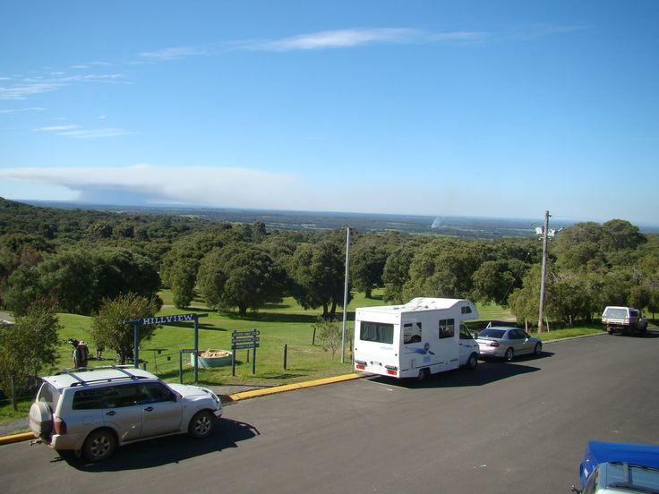 View from Augusta Golf Club Clubhouse, Augusta, Western Australia