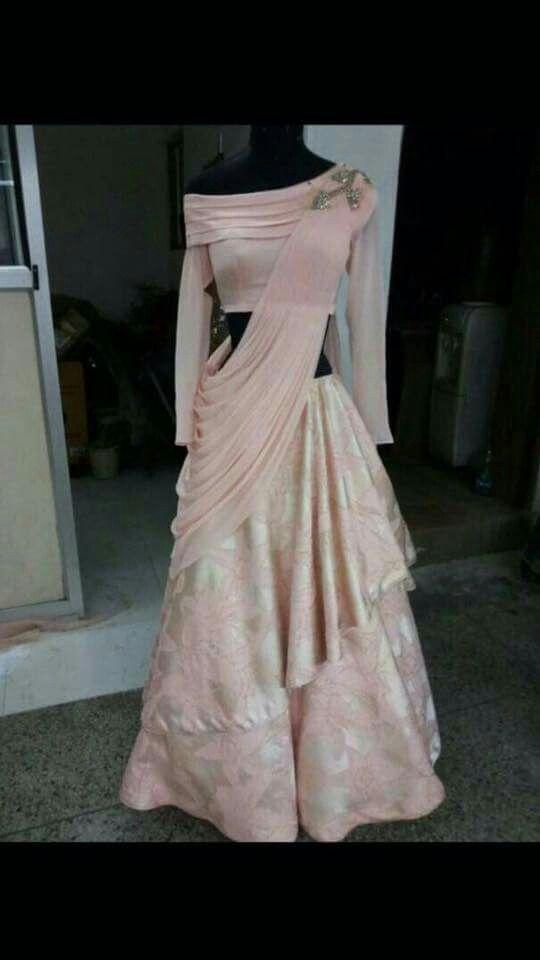 Drape Anarkali