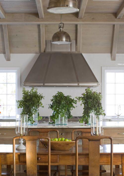 Phoebe Howard   Range HoodCabinets, East Hampton, Kitchens Design, Dreams Kitchens, Phoebe Howard, Ceilings, Kitchens Layout, Dining Tables, White Kitchens