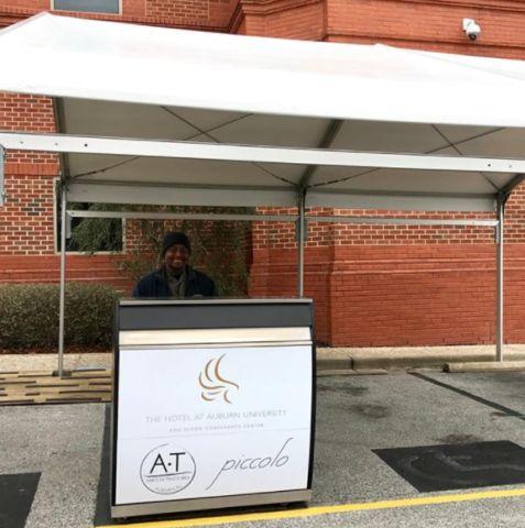 Hotel at Auburn University Professional Kiosk made by the Valet Spot