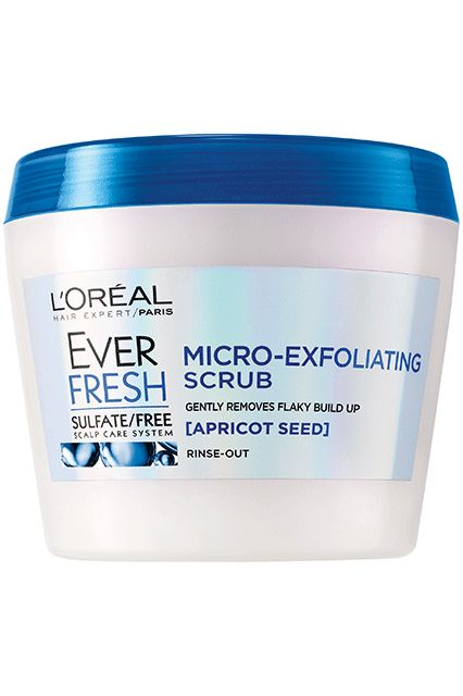 L'Oréal EverFresh Micro-Exfoliating Scrub Rinse-Out Hair Treatment, $9.99, available at drugstores in January 2017.