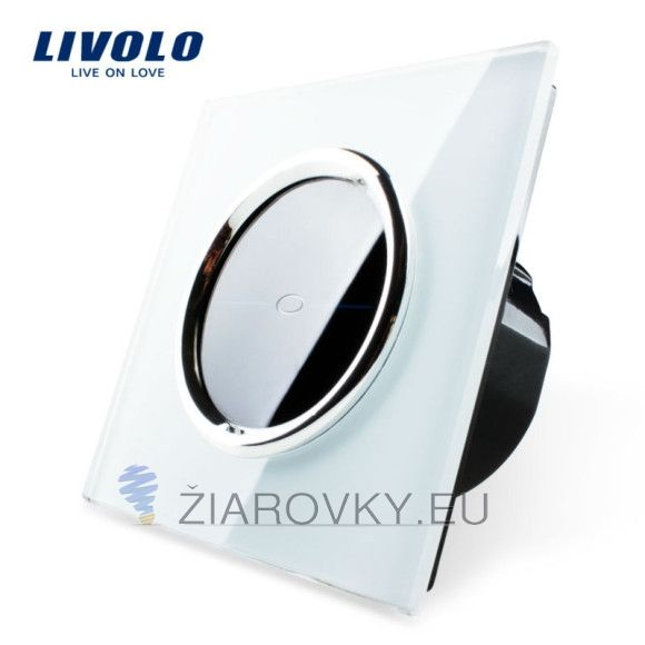 Elegantný dotykový vypínač s lesklou sklenenou dotykovou plochou (1)