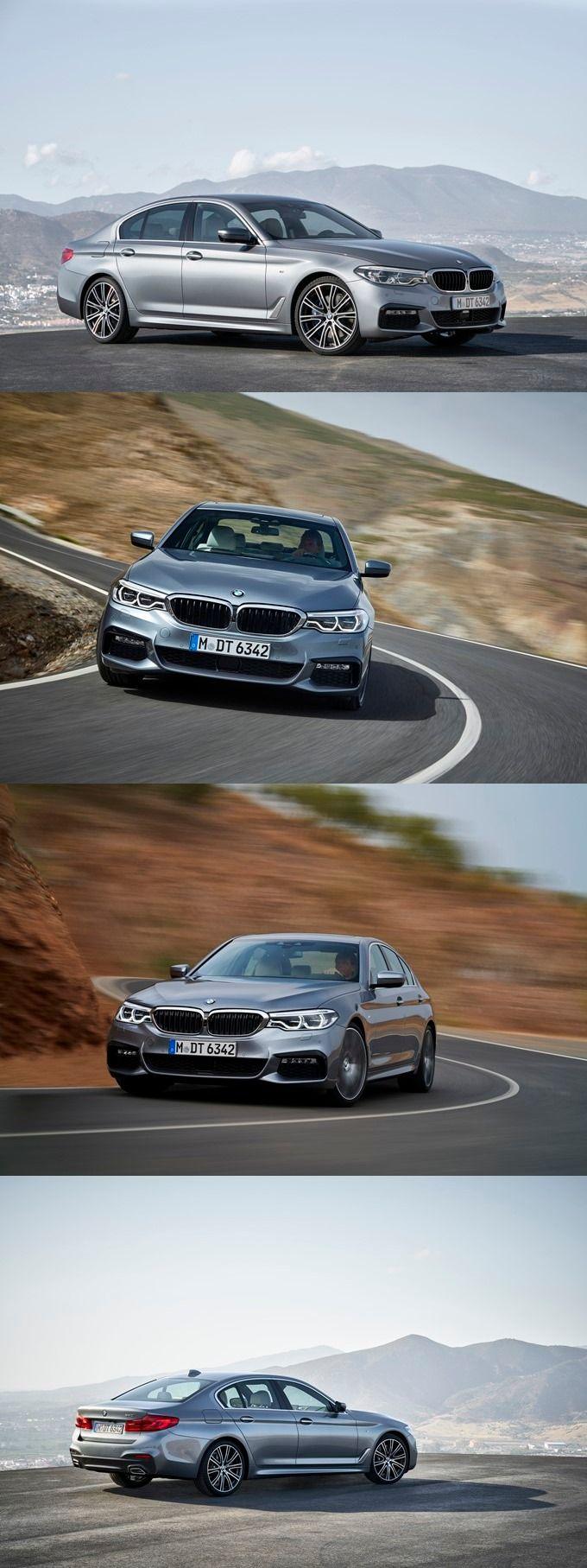 NAIAS 2017: India-bound New BMW 5 Series Unveiled