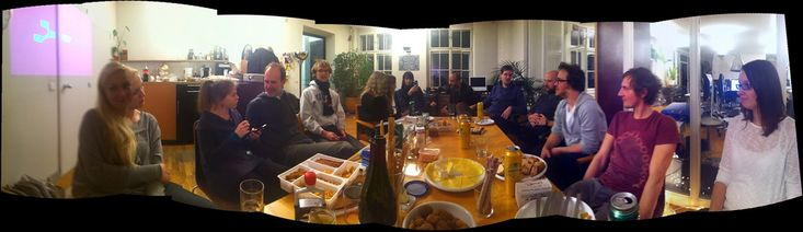 cyLEDGE team celebrating