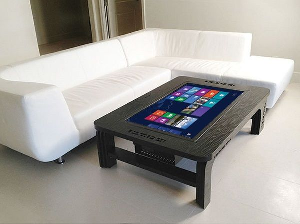 Table basse tactile Windows 8 à $7000