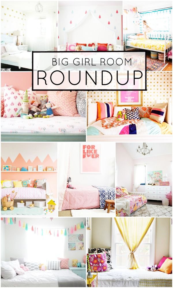 Big Girl Room Roundup