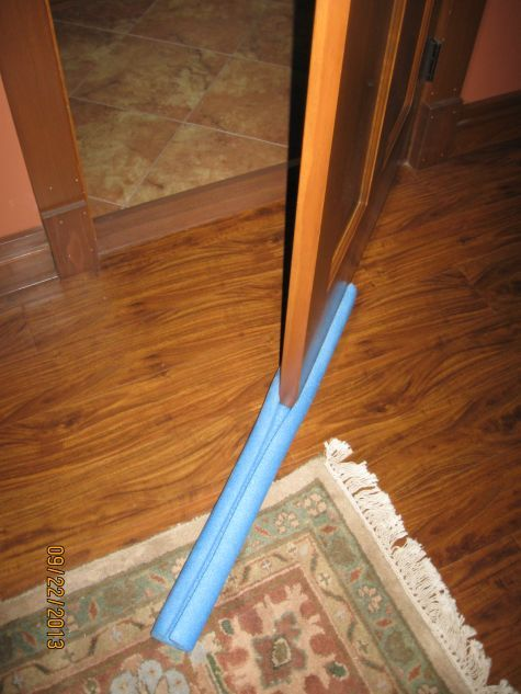 We like to leave the windows open in our bedroom during the cool months but don't want that cool air invading the rest of the house. This is the easiest door sweep, and it seals just fine. Buy one of...