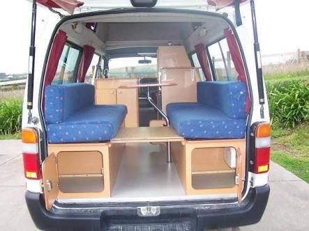 Image result for hiace campervan design