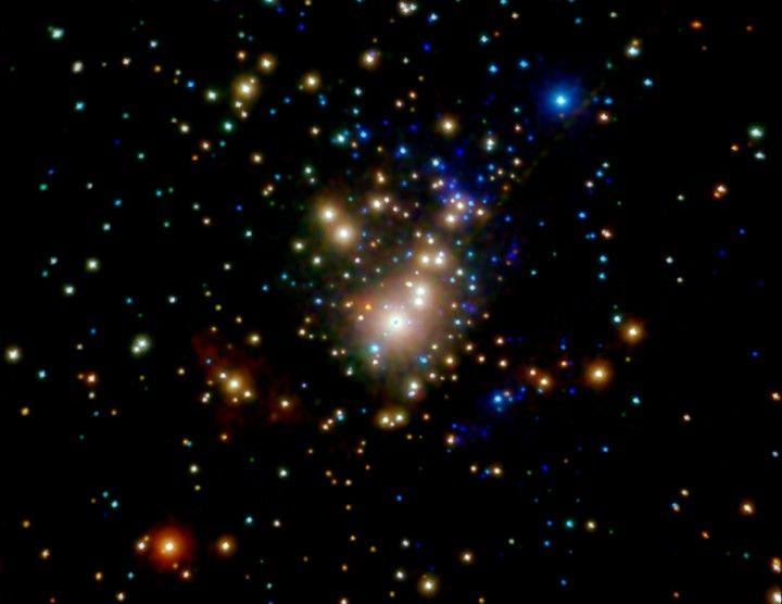 Las estrellas de rayos X de Orión