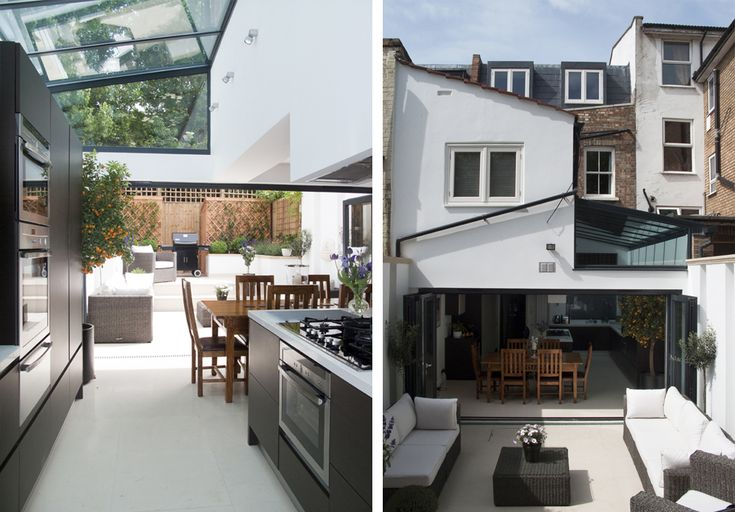Contemporary Modern House Extension With Lovely Kitchen
