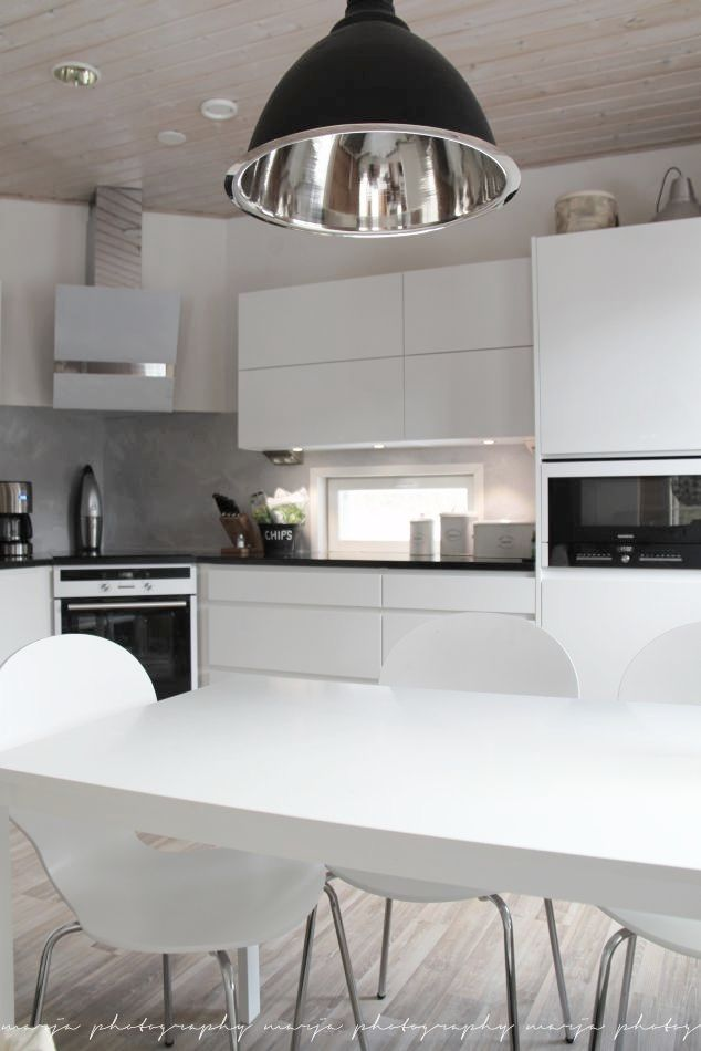 #kitchen #white #