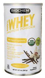 Biochem Organic 100% Whey Protein  Vanilla 12.7 oz (360 grams) Pwdr Review https://probioticsforweightloss.co/biochem-organic-100-whey-protein-vanilla-12-7-oz-360-grams-pwdr-review/