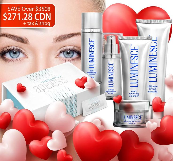 Canada Ground Open Special deal:  $1USD membership fee and $199USD special package: 6 pcs luminesce skin care products and 1 box of Instantly ageless