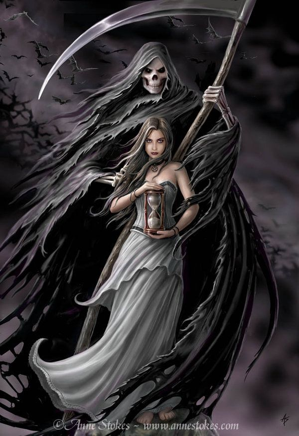 Summon the Reaper ~ Anne Stokes