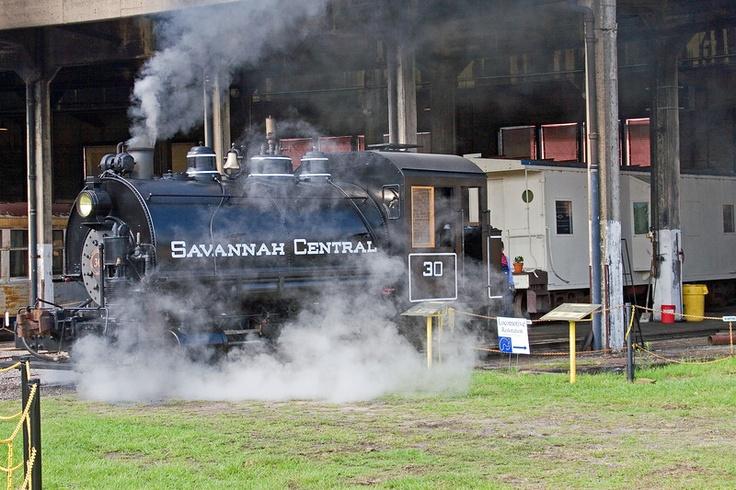 Savannah, Georgia  Train Museum