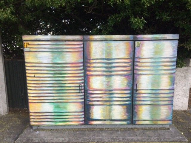 Chorus Cabinets In Hastings Receive A Splash Of Colour