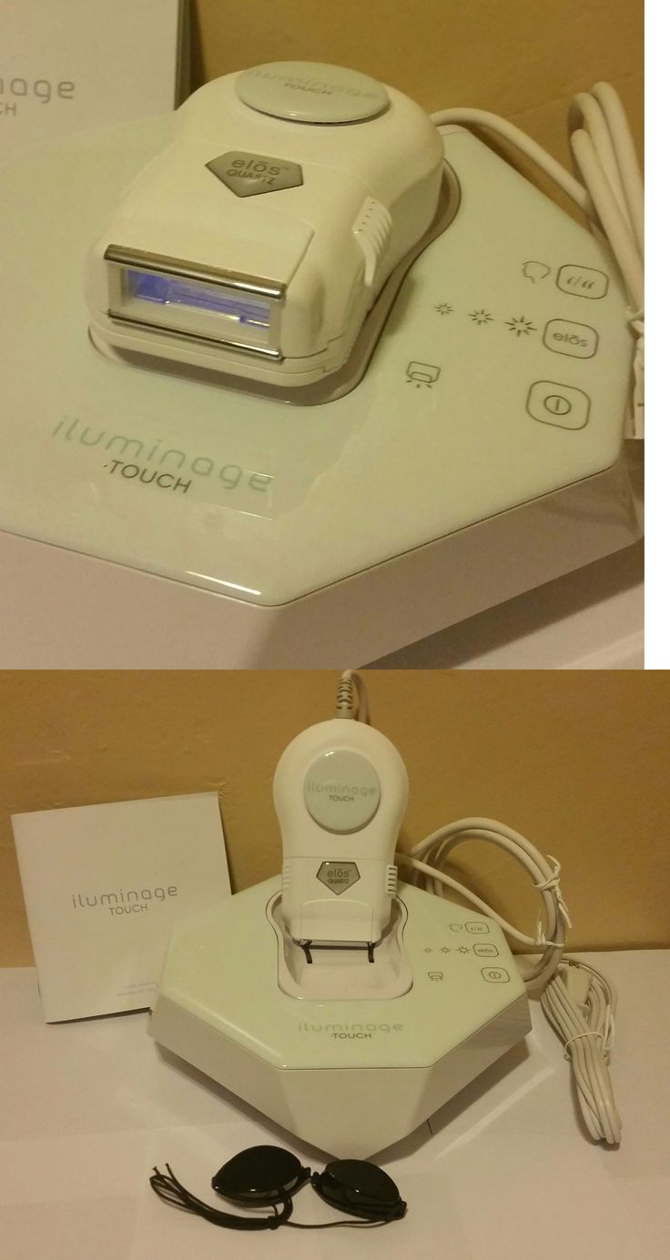 Laser Hair Removal and IPL: Iluminage Beauty Touch Elos At Home Hair Removal System BUY IT NOW ONLY: $245.0