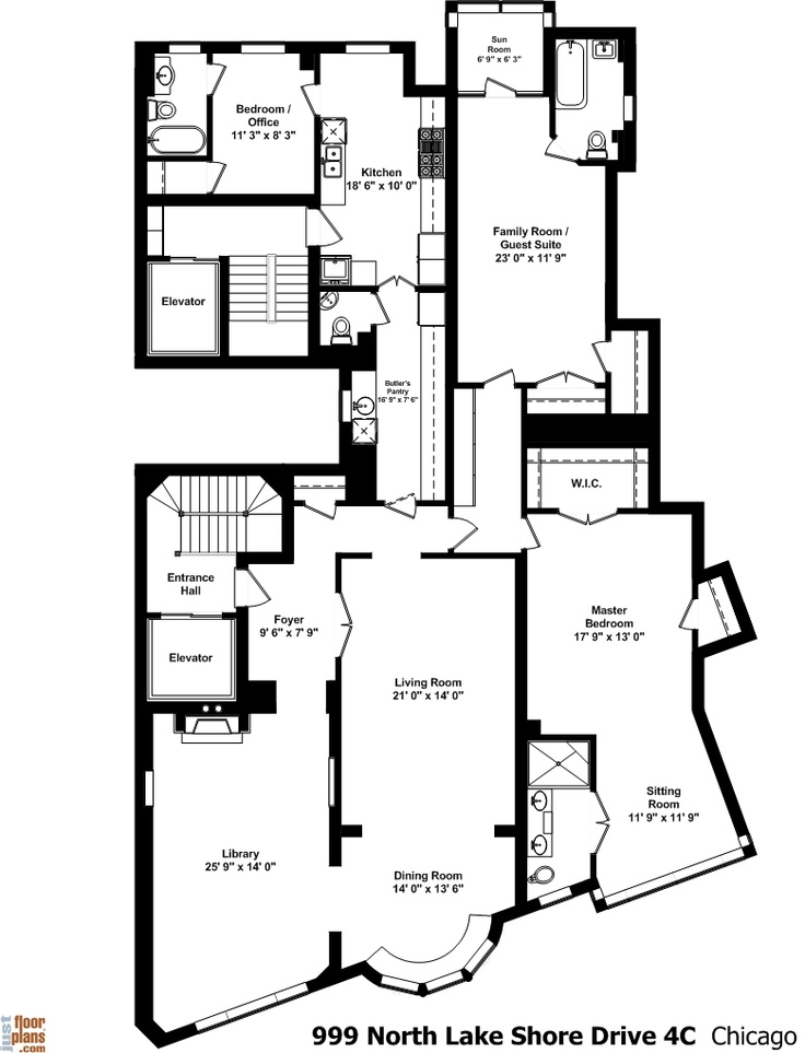 999 north lake shore drive amazing floor plans by jfp