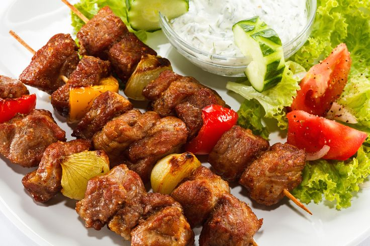 Make your own Mediterranean-style kebabs in the comfort of your own kitchen – no grill or fancy equipment needed.