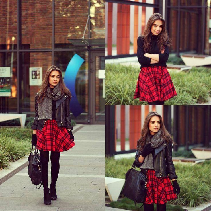 Titeket utolért már a skótkockás láz? #fashionfave #autumn #outfit #pleidskirt