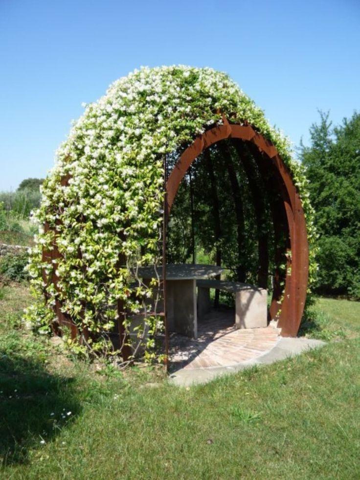 садовый декор, садовые фонтаны, как декорировать сад, шпалер…