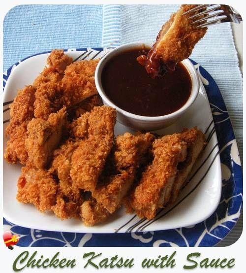 how to make chicken katsu sauce
