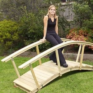 Free Arched Garden Bridge Plans Woodworking Projects Plans