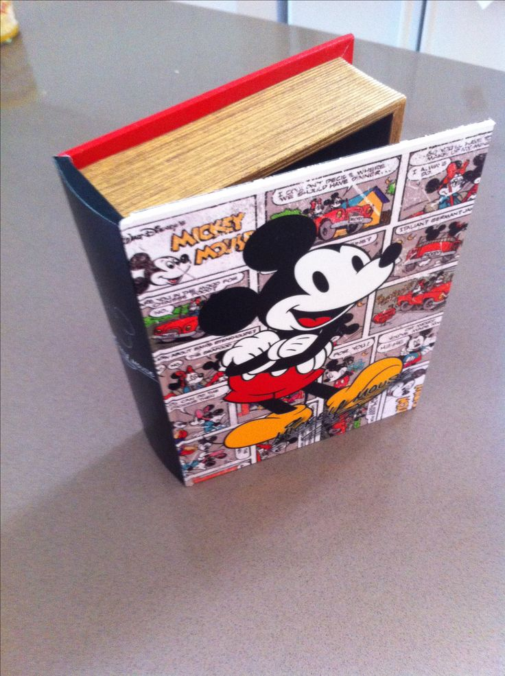 Mickey Mouse book-box