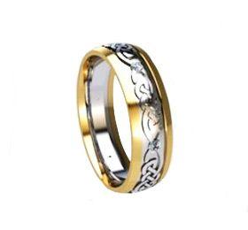 Celtic Wedding Ring - Jewellery by Liam Ross at www.edinburghbridesweddingguide.com