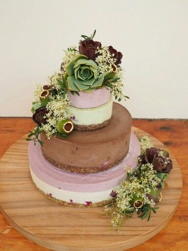 Raw Vegan Wedding cake by From The Wild - local Adelaide cake maker South Australia