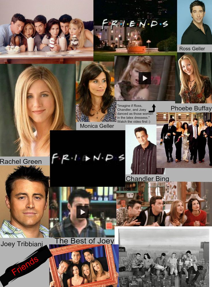 Tv Show Friends Quotes | Friends The TV Show