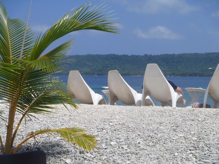 Ahhh my favourite place for snorkelling.. Hideaway Island Vanuatu