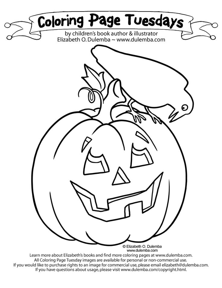 pattern pumpkin coloring pages - photo#21