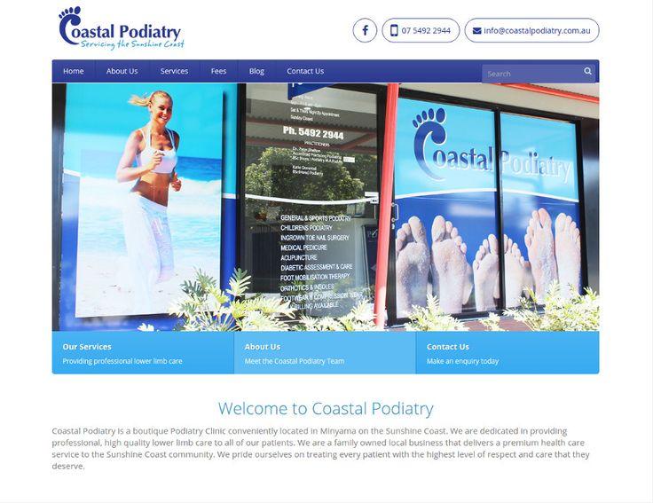 http://coastalpodiatry.com.au/ Website - Coastal Podiatry