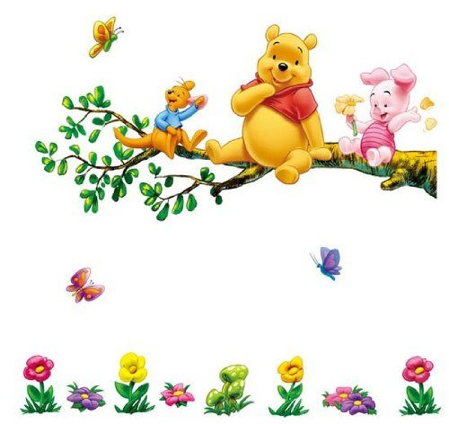 die besten 25 wandtattoo winnie pooh ideen auf pinterest wandtattoo disney winnie puuh. Black Bedroom Furniture Sets. Home Design Ideas