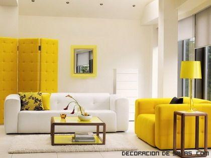 salones en color amarillo