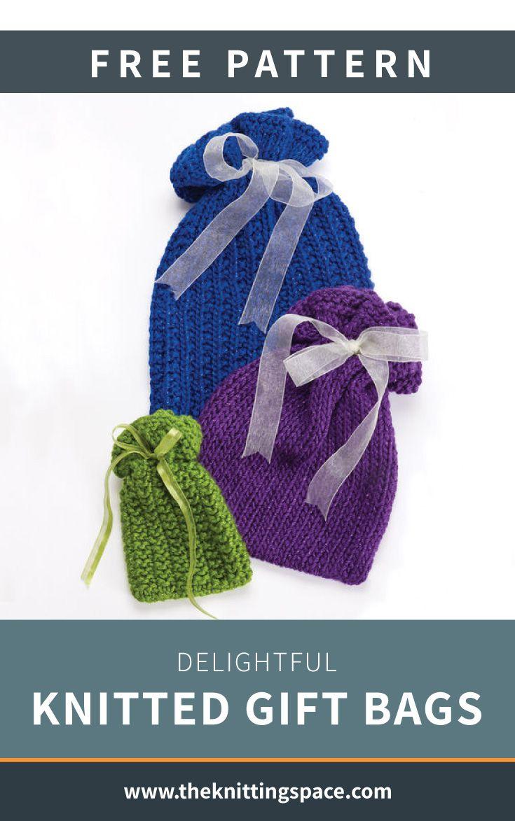 Knit Market Tote Free Knit Pattern
