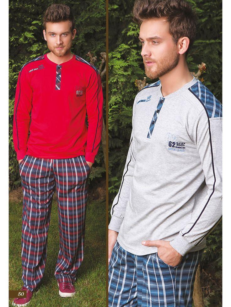 Bone Club 3979 Erkek Ekose Pijama Takım   Mark-ha.com #erkek #eşofman #stylish #fashion #newseason #yenisezon #trend #moda
