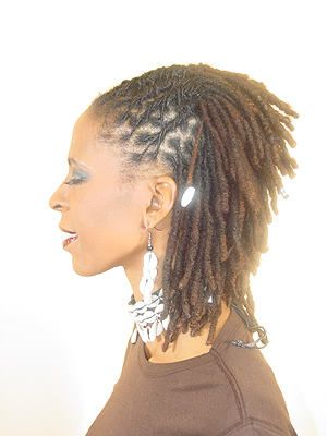loc styles for women | Dred locs, loc, hair locs, maintain locs, dred loc hairstyles