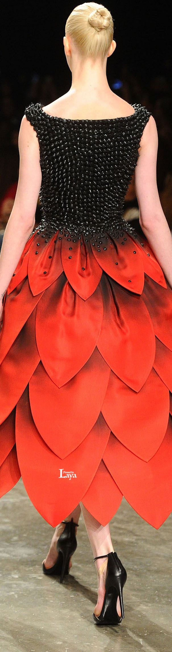 JEAN LOUIS SABAJI S/S 2015 COUTURE | House of Beccaria~