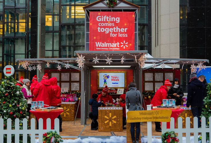Top 70 Interactive Trends in December #65 Pop-Up Toy Shops Walmart's Holiday Helper Toy Shop Lets Shoppers Test Out the Top Toys