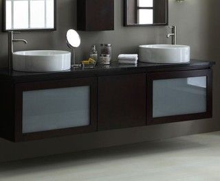 Xylem Bath Vanity - contemporary - bathroom vanities and sink consoles - houston - by Westheimer Plumbing & Hardware