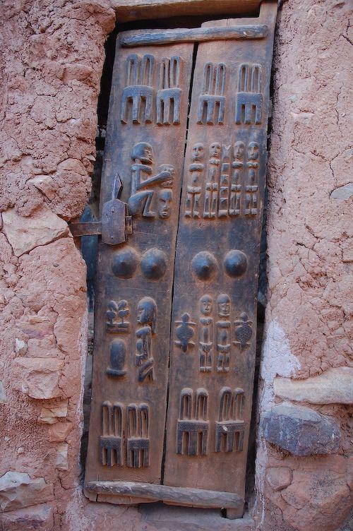 Africa | Dogon Window shutters.  Mali |  © Chris Greenwood