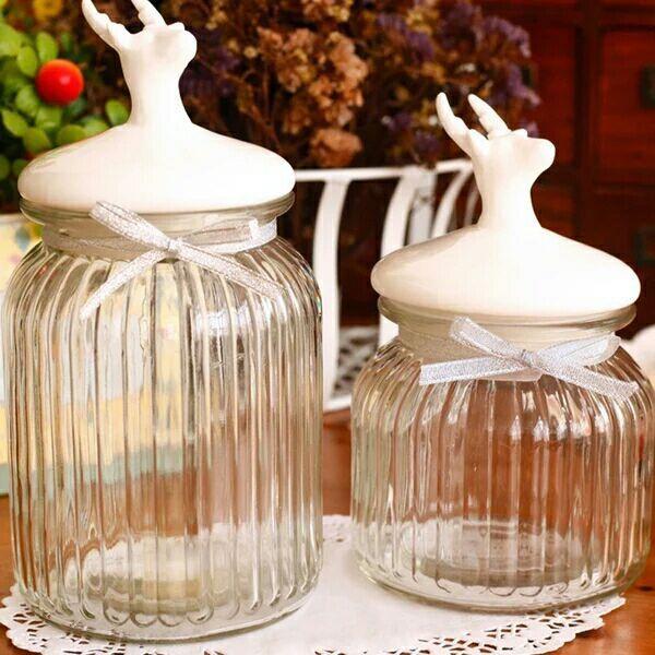 Кухня прозрачная стеклянная бутылка с крышкой Конфеты для хранения зерна загерметизированная банки для хранения баночки пузырь бутылки вина солений банку