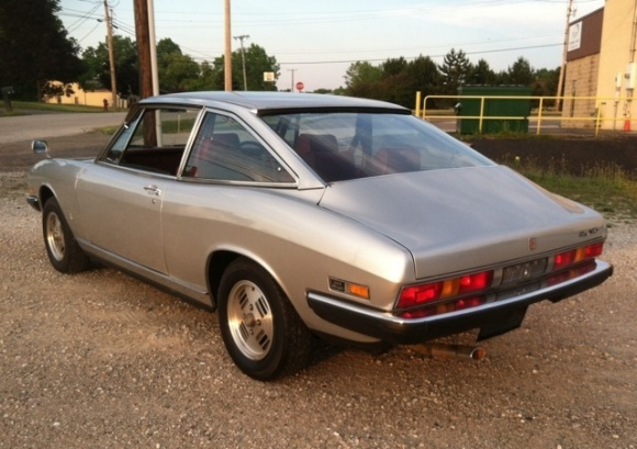 1981 Isuzu 117 Giugiaro coupe
