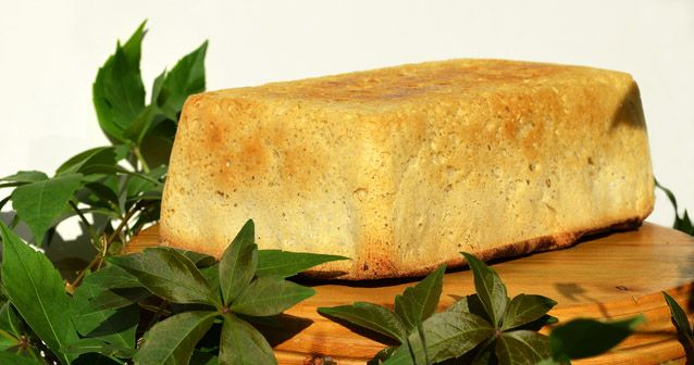 Verkkaan valmistuva leipä Leivinlaudalla blogista